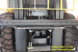 Xe nâng điện 2 tấn có thể sử dụng cùng với bộ công tác nào?