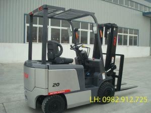Xe nâng điện 2 tấn TEU nhập khẩu
