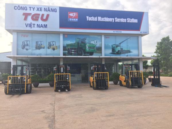 Mua xe nâng uy tín tại Hà Nội